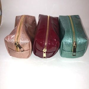 Handbags - 2/$20 🛍️ New- Set of 3 cosmetic bags